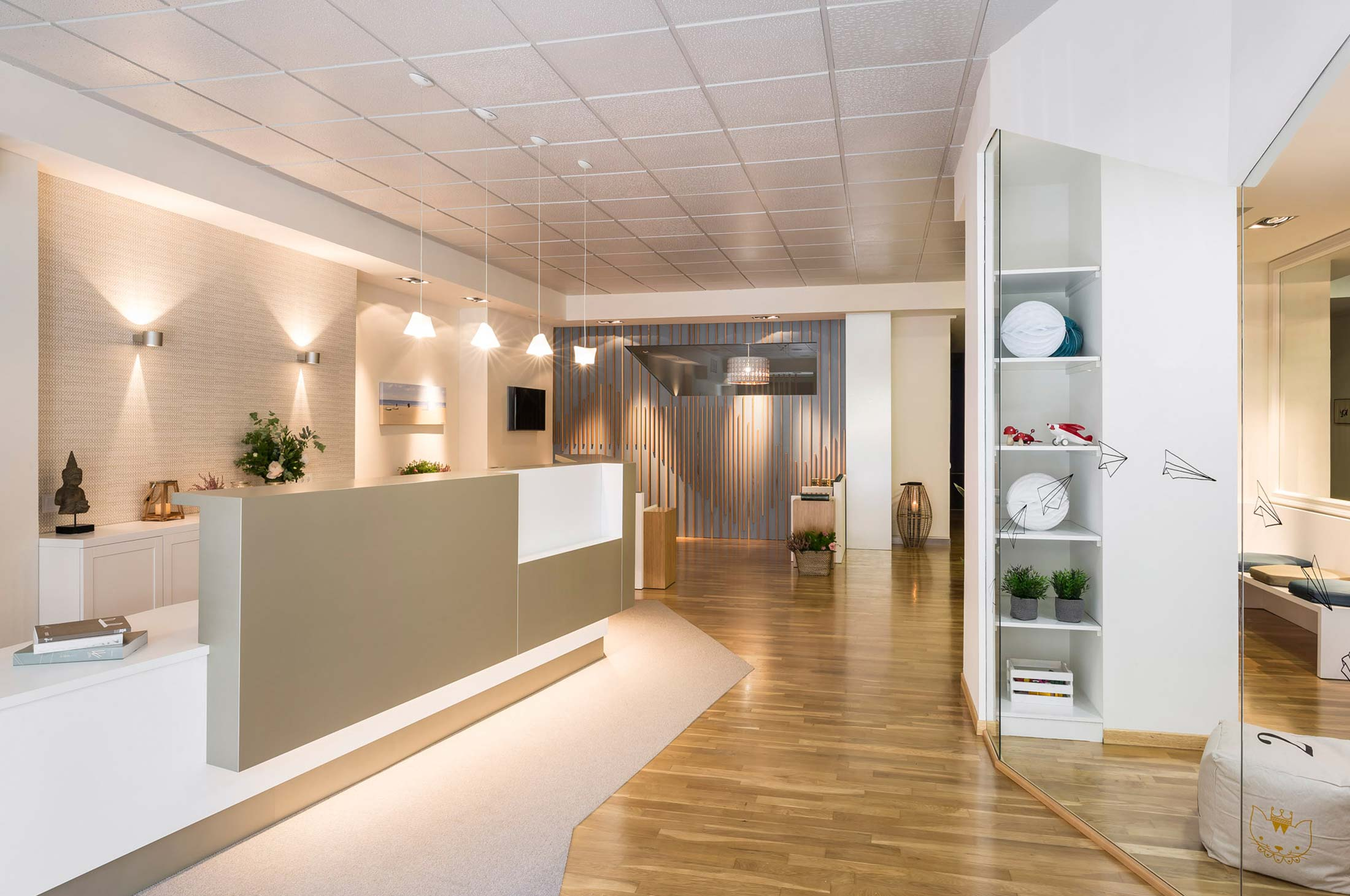 decoracion clinica dental