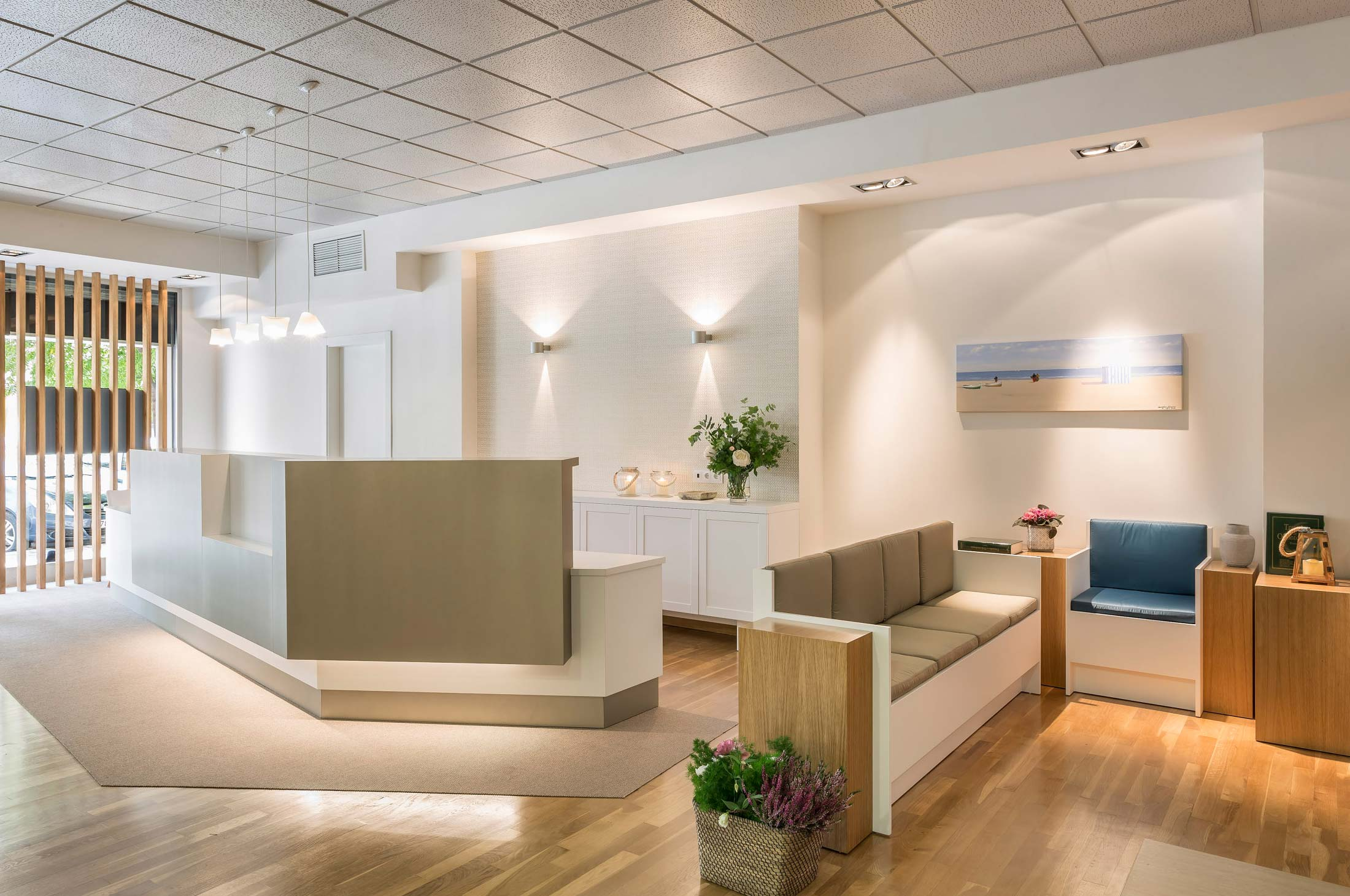 interiorismo clinica dental valencia