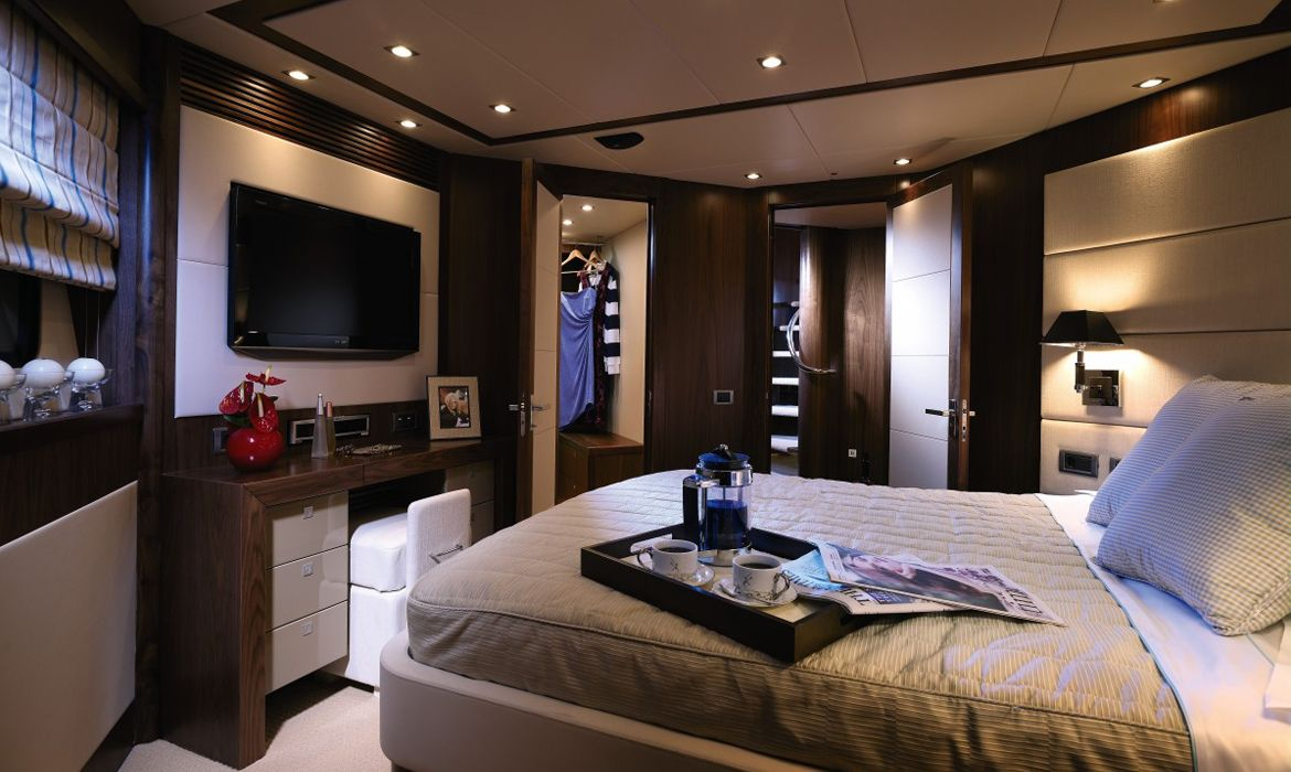 Decoracion yate dormitorio